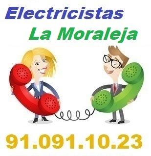 Telefono de la empresa electricistas La Moraleja