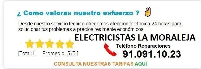 electricistas la moraleja precios